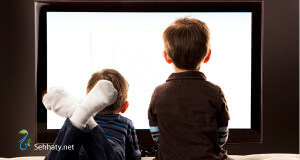 kids watching tv sehhaty